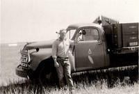 Bob Ringwald Studebaker Truck Turkey Tail Wheat Harvest 1953